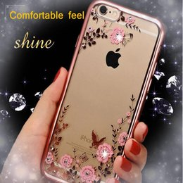 Luxury Secret Electroplating TPU Bumper Shiny Phone Cases Cover Shell for IPhone x 8 7 7s 6 6s Plus 5s Samsung Galaxy S5 S9 Plus S7 Edge