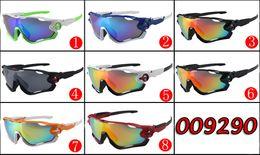 2017 Popular Designer Sunglasses for Men and Women Outdoor Sport Sun Glass Driving Eyeglasses Cycling Sunglasses Jawbreaker Sunshades AAA+++