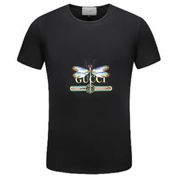 2018 Men's Spring Summer Casual Business T-shirt Classic Shirt Men's Shirt Classic Men's T-Shirt Trend T-Shirt 2012911