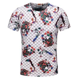 2018 fashion new classic men and women T-shirt designer brand men and women spring and summer sports breathable short-sleeved T-shirt E4