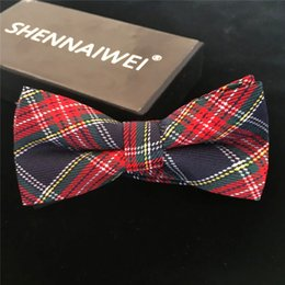 High Quality Fashion Casual Men Cotton Bow Tie Men's Bowties For Butterfly Cravat Plaid & Checks Tuxedo Bow Necktie