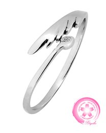 Fashion Sterling Silver Promise Rings for Women Men, Angel's Wing Noble Design Finger Jewelry Rings, Flexible Size