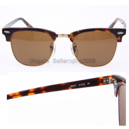 new hot sale Plank Tortoise Frame 51mm Sunglasses Txrppr brand designer vintage Women Men Brown lens Sun glasses with box
