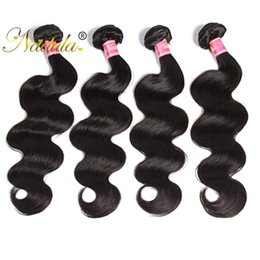 Nadula Brazilian Body Wave Hair Weaves Human Hair Bundles Virgin Hair Extensions Human Wefts Weave Wet and Wavy Wholesale Cheap 1-5Pieces