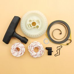 Rewind Recoil Spring Pulley Rope Handle Pawl Dog Repair Kit Fit STIHL MS180 MS170 MS 180 170 017 018 Chainsaws