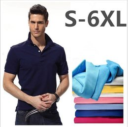 Fashion Clothing New Men Shirt Men Business & Casual Solid Male Polo Shirt Short Sleeve Breathable Summer Small Horse Embroidery Polo