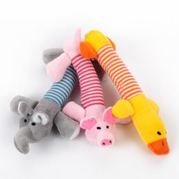 New Fashion Dog Toys Pet Puppy Chew Squeaker Squeaky Plush Sound Toys Cute Type Teddy High Quality Toys
