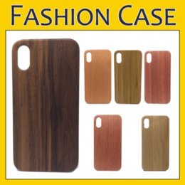 Real Wood Case Nature Carved Wooden Bamboo Wood+PC Case For iPhone X Xr Xs Max 8 7 6 6S Plus Samsung S9 S8 Plus Note 8 S7 Edge