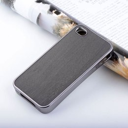 Wooden design case for iPhone 5 5S SE 4S soft Chromed TPU material & wood PU leather skin for iPhone 4
