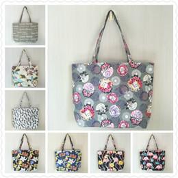 women's beach large flower bag women's single-shoulder bag portable Tote bag 2018 new model