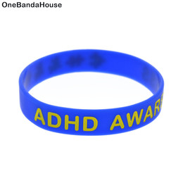Wholesale 100PCS Lot ADHD Awareness Puzzl Wristband Multicolours Jigsaw Silicone Bracelet For charity fund Activity Promotional Gift
