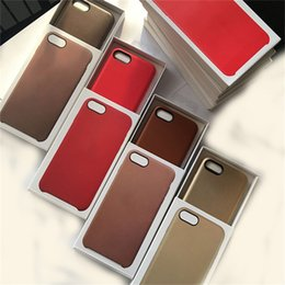 Original Official Case For Apple iPhone X 8 7 Plus Luxury Slim PU Leather Back Cover With Retail Box Matte Frosted Leather Cases for Iphonex