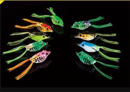 New Soft Rubber Ray Frog Snakehead Lure 8g-4.5cm 11g-5cm 14g-5.5cm 3 Size Topwater Lifelike Frog Pesca Fishing Bait