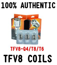 100% Original TFV8 Coils Head V8-T8 V8-T6 V8-Q4 V8-X4 V8 RBA V8-T10 Replacement Coils For TFV8 Cloud Beast Tank DHL
