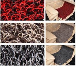 Red Purple Black Brown Spinning Mats Four Seasons General The Car Carpet Mats Spinning Three-Piece 52-1A 1192