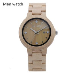 GNART 039 Natural Bamboo Watch man watches woman watches Fashion watches Casual watch Quartz watch