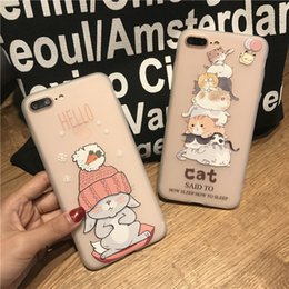 For iPhone 6 Case iPhone 7 8 Case Silicone Niceking Cute Cartoon Matte TPU Soft Back Cover Phone Cases For iPhone 6S 6 7 8 Plus free ship