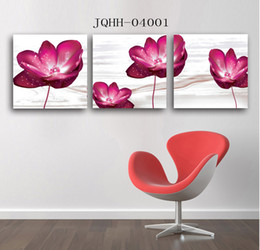 Living room flowers Decorative painting Pastoral small fresh paintings simple floral mural landscape frameless painting wall paint