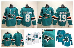 San Jose Sharks Jerseys 8 Joe Pavelski 31 Martin Jones 19 Joe Thornton 39 Logan Couture 88 Brent Burns 7 Paul Martin 44 Marc Edouard Hockey