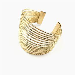 Free shipping Europe and America new jewelry simple generous metal scrub open bracelet popular quality star bracelet 100 lap