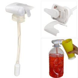 New hot Magic tap Drinking straw electric automatic drink dispenser for water fruit juice coke milk tools kids adullt