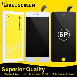 Incell LCD Screen For iPhone 6P 6Plus No Dead Pixel Grade A LCD Screen Replacement Assembly With Touch Screen Digitizer Free DHL Shipping
