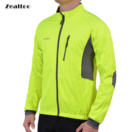 Zealtoo Ropa Ciclismo Thermal Cycling Jacket Winter Warm Up Bicycle Clothing Windproof Waterproof Sports Coat MTB Bike jersey