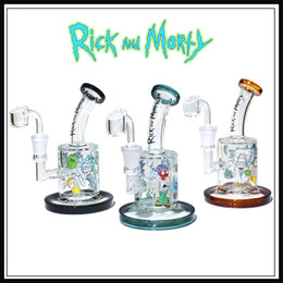 glass bong oil rig 5MM thickness banger nail glass bongs female joint 14.5MM bubbler dab rig