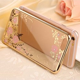 Secret Garden Electroplated Silicone TPU Bumper Phone Cases Cover Shell for IPhone x 8 7 7s 6 6s Plus 5s Samsung Galaxy S5 S9 Plus S7 Edge
