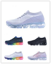 Drop Shipping Vapormax TPU Running Shoes 2018 Men Casual Air Cushion Women Boost Athletic Sneakers Outdoor Jogging Hiking Sport Shoes 36-46