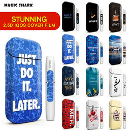 2018 New IQOS Skin Sticker 2.5D Stereo Film For IQOS 2.4 Plus 3M Printing Cover PVC IQOS Skin Case Sleeve Decorative Protective Sticker