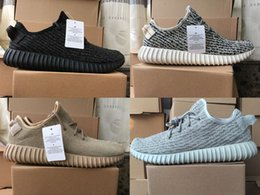 2018 new Sply Boost 350 men and women Black Turtle Dove Moonrock Oxford Tan Mens Running Shoes Women Kanye West Sports 350 Sneakers Boots