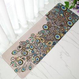 Factory wholesale bedside sofa tea table long carpet floor mat kitchen oil stain-resistant door mat