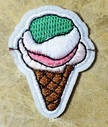 ice cream Iron On Patches, Made of Cloth Guaranteed 100% Quality Appliques(sew on clothes)+ Free Shipping!!!