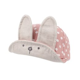 free shipping hot sales 2018 new Cap Summer Sweet Rabbit Ears Dots Style hats children with ears spring summer Autumn hop baby hats