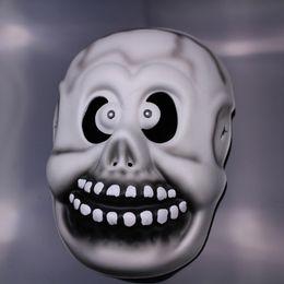 demon Ancient mask Single masks of terror halloween mask grimace Performing holiday party props EVA material mask environmentally skull