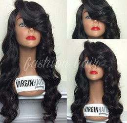 7A Brazilian Full lace wigs Brazilian Virgin Hair Body Wave Lace Front Wig Full Lace Human Hair Wigs Bleached Knots