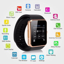 Hot Top Best Selling Fashion GT08 Smart Watches Wristband Android Bluetooth NFC Watch with Camera Smart SIM Intelligent Mobile Phones IOS