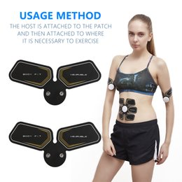 New arm muscle training device body massage ABS electric weight loss massage training two cushion effective thin weight reducing local massa