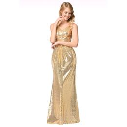 Shoulder V-neck Women's Single Shoulder Bridesmaid Dress Evening Prom Dress With Sequins Elegant Dresses