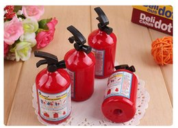 2018 New 1 Pc Pencil Sharpener Kawaii Fire Extinguisher Shape Student Stationery for Kids Prizes Gifts Creative Papeleria free shippoing new