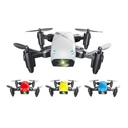 WIFI RC Drone Quadcopter With HD Camera Foldable Pocket Drones wifi Control Helicopter Mini Dron Quadcopter