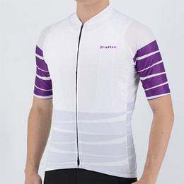 2018 Purple Cycling Jersey Summer Short Sleeve MTB Bike Cycling Clothing Ropa Maillot Ciclismo Racing Bicycle Clothes