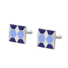 Men's classic casual alloy colored cufflinks French retro Cuff nails custom Free shipping