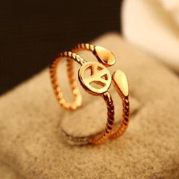 Peace Rings for Women Gold Plated Finger Rings Double Layer Vintage Open Ring Adjustable Wedding Party Costume Bijoux Accessories Jewelry