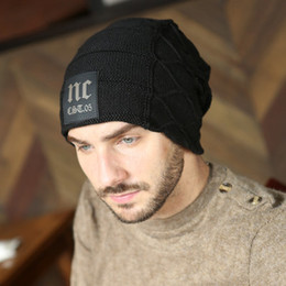 Winter Hats Men Hat Beanies Skullies with Velvet Inside Z-2019