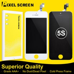 Low Faulty Incell LCD Screen ForFor iPhone 5 5G 5C 5S Grade A LCD Display Replacement Assembly With Touch Screen Digitizer Free DHL Shipping