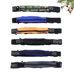 Hot unisex convenient belt bag travel bag casual belt outdoor sports pocket