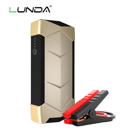 LUNDA Car Jump Starter ultra-thin mini multi-function portable power source 8000mAh Start the 0.6L~ 2.0 L gasoline vehicles