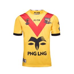 2017 World Cup Jersey PNG RFL rugby shirt Papua New Guinea rugby Jerseys NRL National Rugby League FI-TA shirts